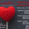 Valentines Day Dinner for Two Fratelli's Kitchen 2016
